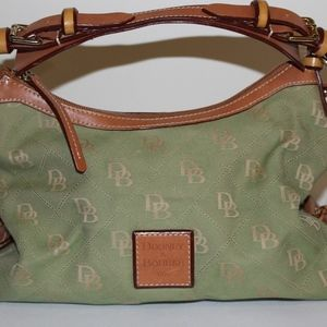 Dooney and Bourke Lime Green Signature Purse
